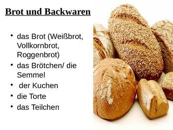 German Food Powerpoint