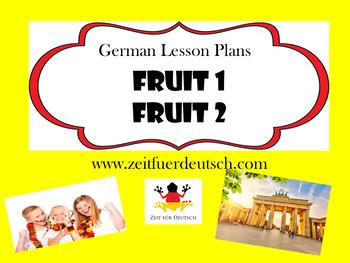 Fruit Bundle. German Lesson Plans and Resources