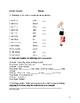 German Beginner Bundle (handouts, worksheets and partner a