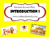 German Introduction 1