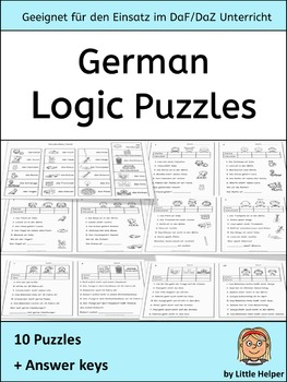 German Logic Puzzles