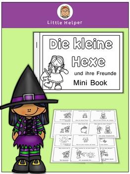 German Mini Book - Die kleine Hexe und ihre Freunde
