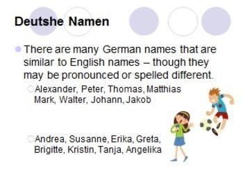 German Names: Mädchen oder Junge?