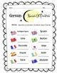 German Names of Countries Worksheet Packet