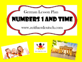 German Numbers 1 and Time