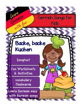 German Song -Backe, backe Kuchen