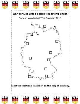 German Travel Destinations Video Guide: Wanderlust IN ENGLISH