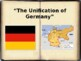 German Unification PowerPoint