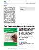 German numbers 1-100  - Vocabulary crossword puzzle for beginners