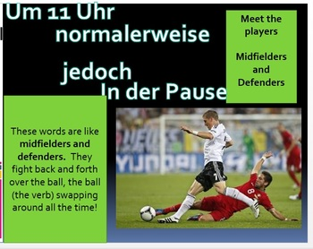 German word order with soccer!