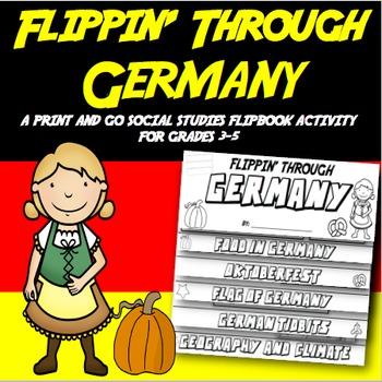 Germany Flip Book: A Social Studies Interactive Activity f