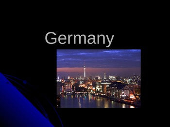 Germany Power Point Presentation