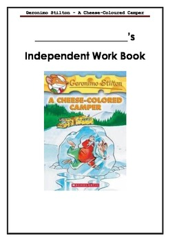 Geronimo Stilton - A Cheese-Colored Camper - Independent o