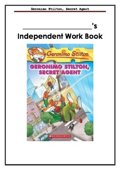 Geronimo Stilton, Secret Agent - A book full of learning a