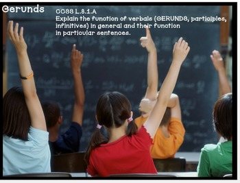 Gerunds and Their Functions Instructional Powerpoint with
