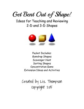 Get Bent Out of Shape Activities: A Review of 2-D and 3-D Shapes
