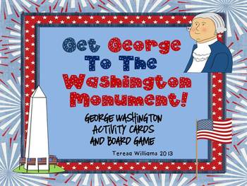 Get George To The Washington Monument Board Game and Aciti