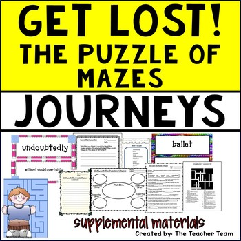 Get Lost! The Puzzle of Mazes Journeys Fifth Grade Supplem