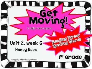 Get Moving: Unit 2 Bundle 1st Grade Reading Street, Week1-6