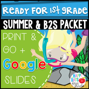 Get Ready for 1st Grade! {Math, Literacy, & Flashcards for