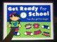 Get Ready for School: A NO-PRINT Dress Up Game