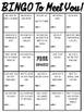 Get To Know You Bingo Freebie