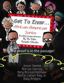 Get To Know...African Americans Series {SET 2}
