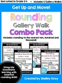 Get Up and Move! {A Rounding Gallery Walk COMBO PACK}