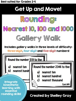 Get Up and Move! {A Rounding to the Nearest 10, 100 and 10