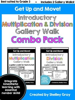 Get Up and Move! {An Introductory Mult. and Div. Gallery W