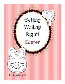 Getting Writing Right!  Easter