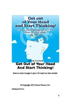 Get out of your head and start thinking