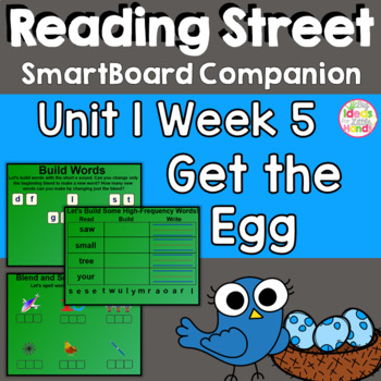 Get the Egg! SmartBoard Companion1st First Grade