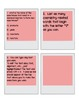 Get the Picture EDITABLE Task Card Template Form and Exit/