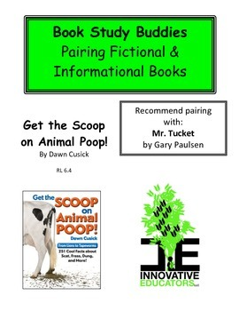 Get the Scoop on Animal Poop!-Pairing Fiction and Informat