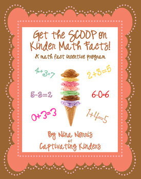 Get the Scoop on Math Facts ~ Kinder