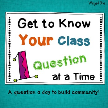 Classroom Community: Question of the Day