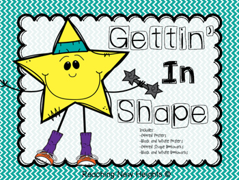 Gettin' In Shape Posters & Bookmarks