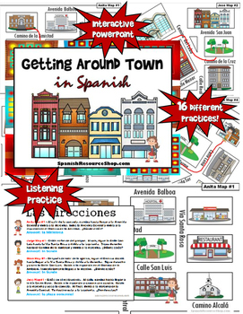 Getting Around Town in Spanish
