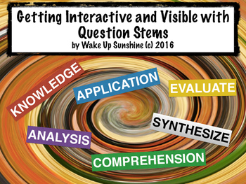 Getting Interactive and Visible with Question Stems