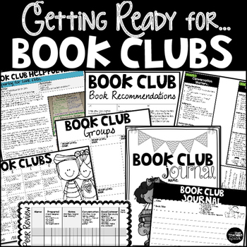 Getting Ready for Book Clubs Hints, Rubrics, Conference Fo
