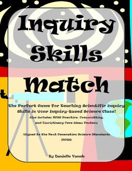 Getting Ready for Science Inquiry Skills Matching Game: Al