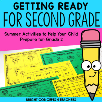Getting Ready for Second Grade! {Common Core Aligned}