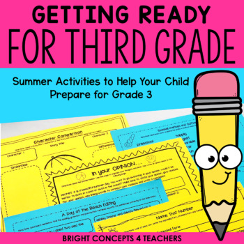Getting Ready for Third Grade! {Common Core Aligned}