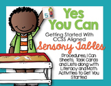 Getting Started With Sensory Table Aligned Activities-Task