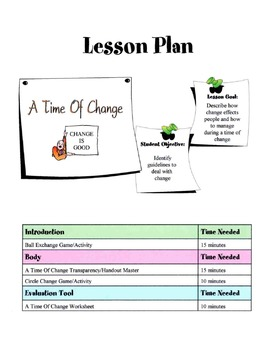 Getting Through Times Of Change Lesson