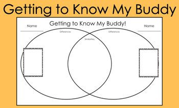 Getting To Know My Buddy Activity