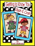 Getting To Know You- Glyph & Craft