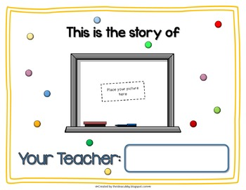 Getting To Know You Teacher Book