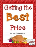 Getting the Best Price on your Holiday Dinner